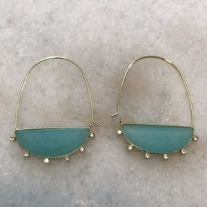 Anthropologie Turquoise Earrings